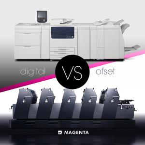 digital ofset tlačiareň grafické štúdio magenta